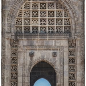 Artistic colour photo print of the Gateway of India in Mumbai, India.