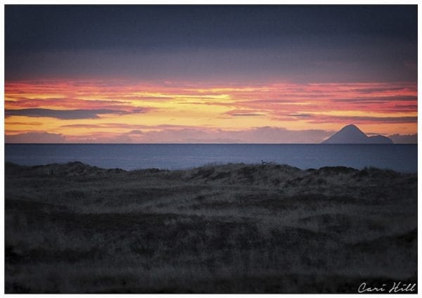 Artistic colour photo print of an Opotiki Sunset in New Zealand.