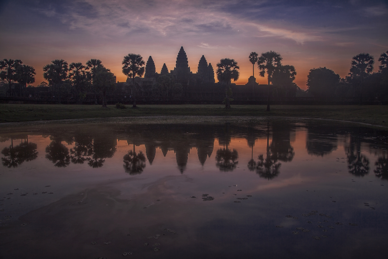 Angkor Wat at Dawn 1