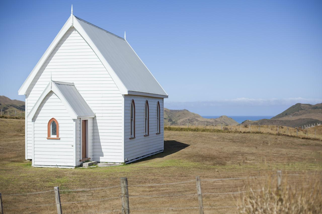 Rural Church in Awhitu Peninsular