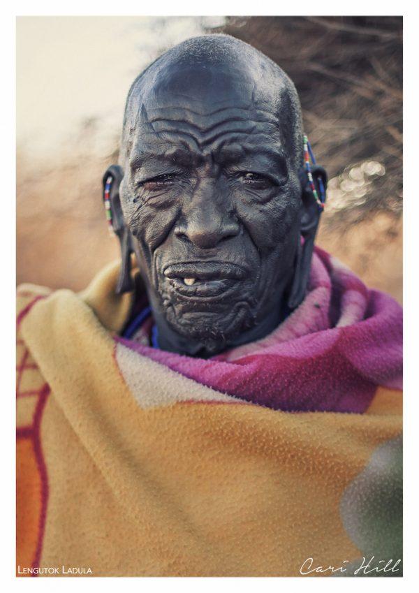 Maasai Elder Portrait