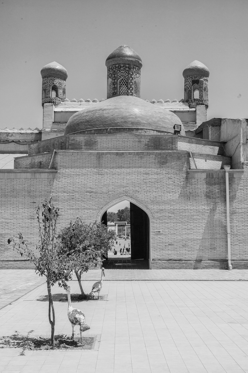 Temple in Bukhara